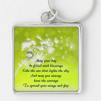 Irish Prayer for Blessings Keychain