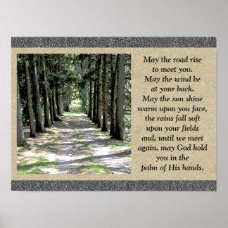 Irish Prayer - Poster