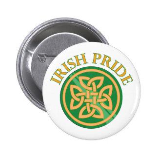Irish Pride 6 Cm Round Badge