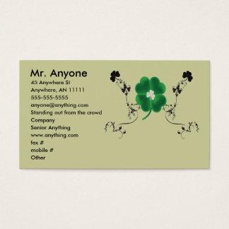 Irish Pride Business Card
