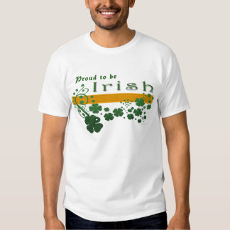 Irish Pride Front Only Shirts