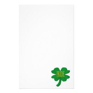 Irish Pride Stationery Design