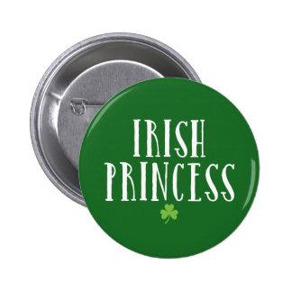 Irish Princess 6 Cm Round Badge