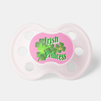 Irish princess and fairy pacifiers