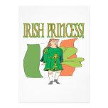 Irish Princess Announcements