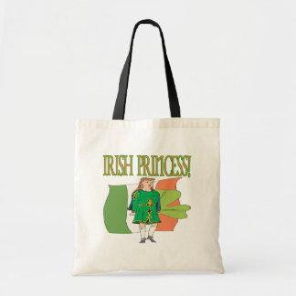 Irish Princess Canvas Bags