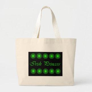 IRISH PRINCESS bag/purse Large Tote Bag