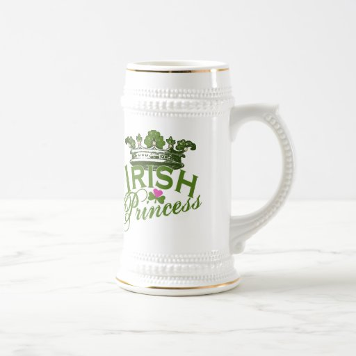 Irish Princess Beer Steins