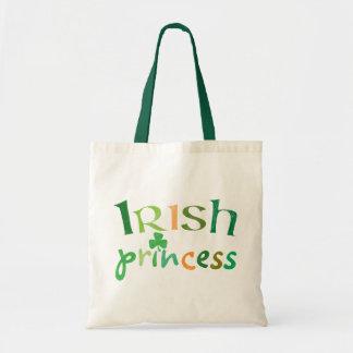 Irish Princess Budget Tote Bag