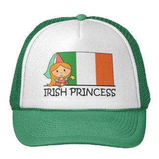 Irish Princess Cap Mesh Hats