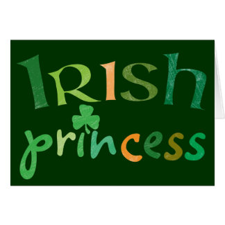 Irish Princess Cards