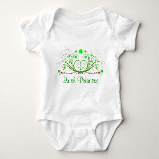 Irish Princess Fancy Shamrocks Infant T-shirt