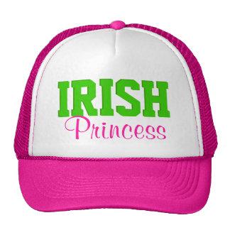 Irish Princess Hot Pink/Green Hats