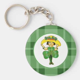 Irish Princess Key Chain