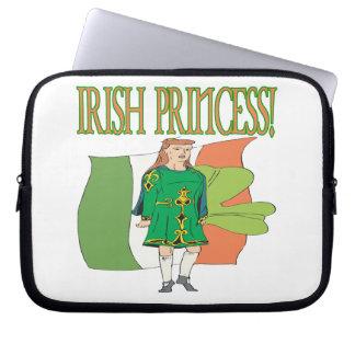 Irish Princess Laptop Sleeves