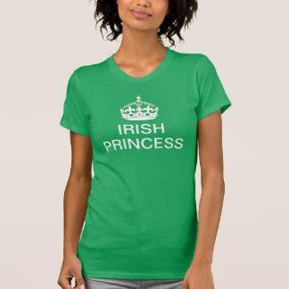 Irish Princess on Kelly Green T-Shirt