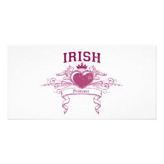 Irish Princess Picture Card
