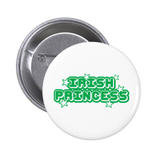 Irish Princess Pinback Button