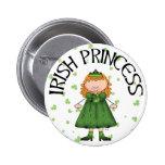 Irish Princess Pinback Buttons