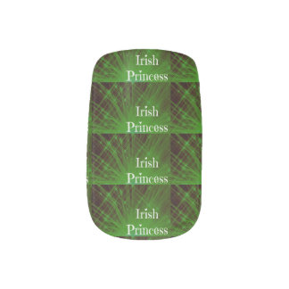 Irish Princess Sparkle Minx ® Nail Art