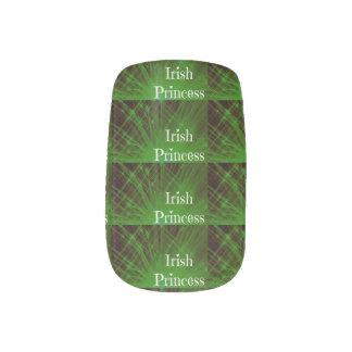 Irish Princess Sparkle Minx ® Nail Art