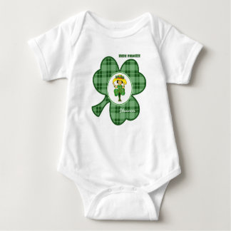 Irish Princess . St. Patrick's Day Baby Bodysuit