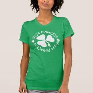 Irish Princess St Patricks Day Shamrock Womens Tee