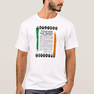 Irish Proclamation 1916 Tricolour Celtic TShirt
