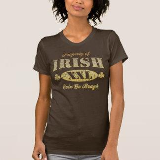 Irish Property of Erin Go Bragh  t shirt