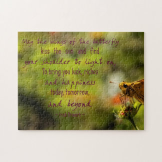 Irish Proverb Butterfly Puzzle