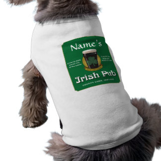 Irish Pub Dog T-shirt
