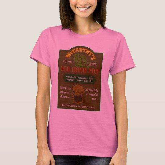 Irish Pub Sign T-Shirt