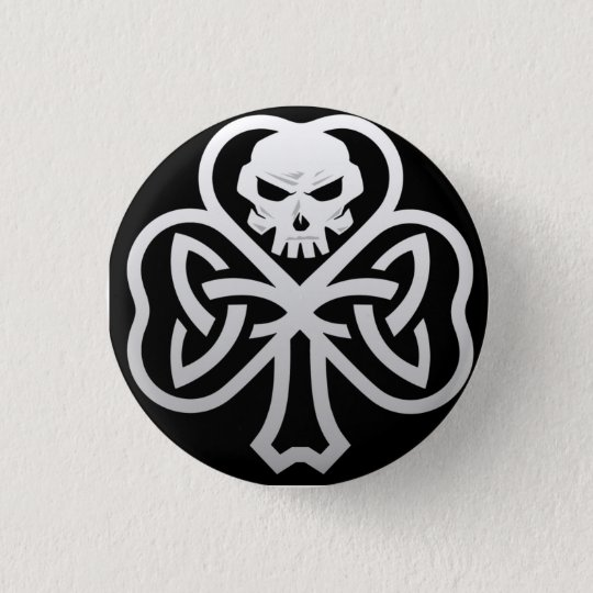 Irish Punk 1 1/4 Button Pin