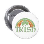 Irish Rainbow 6 Cm Round Badge