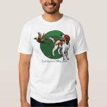 Irish Red and White Setter Tee Shirts