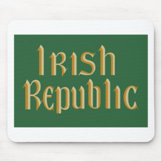 Irish Republic Flag Mouse Mat