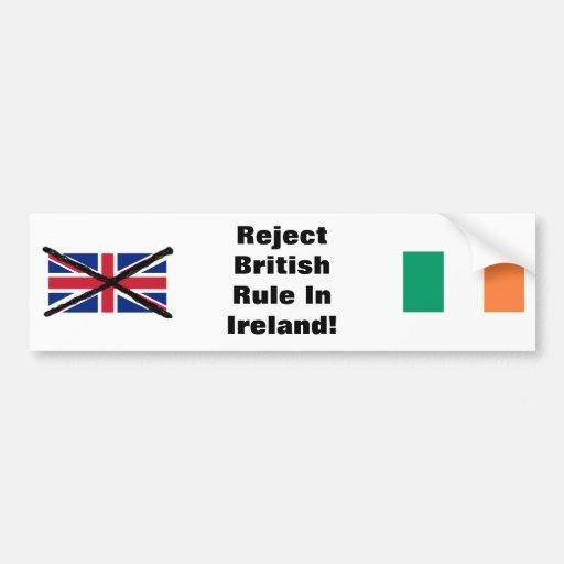 Irish Republican bumper sticker