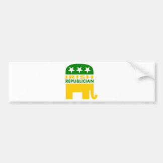 Irish Republician Bumper Sticker