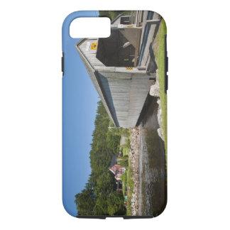 Irish River covered bridge, St. Martins, New iPhone 8/7 Case