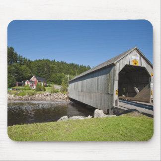 Irish River covered bridge, St. Martins, New Mouse Pad