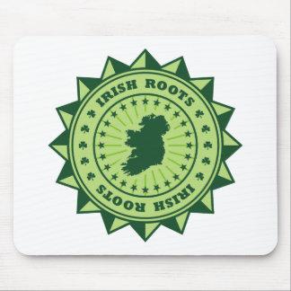 Irish Roots Map Mouse Mat