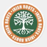 Irish Roots Stickers