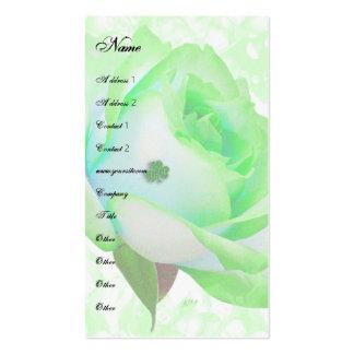 Irish Rose template Business Card Templates