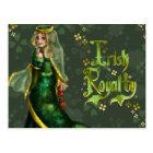 Irish Royalty Postcard