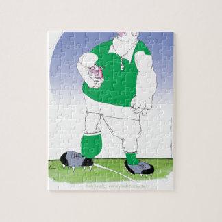 irish rugby player, tony fernandes jigsaw puzzle