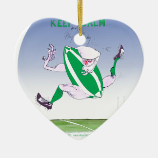 irish rugby, tony fernandes christmas ornament