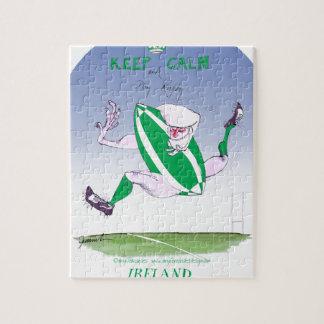 irish rugby, tony fernandes puzzles