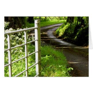 Irish Rural Road Card