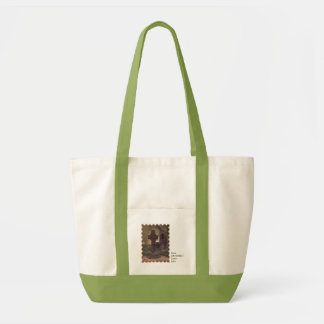 Irish Saints Saint Columbkille's Cross Impulse Tote Bag