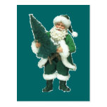 Irish Santa Post Cards